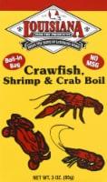 Louisiana Crawfish Shrimp & Crab Boil Bags - 3 Oz