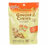 Prince Of Peace - Chews Ginger Orange - 1 Each - 4 OZ - Pack of 3 - Case of 3 - 4 OZ each
