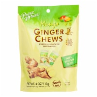 Prince Of Peace - Chews Ginger Mango - 1 Each - 4 OZ - Pack of 3 - Case of 3 - 4 OZ each