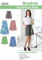 Simplicity Misses Skirts & Pants-6-8-10-12-14-16-18 - 1