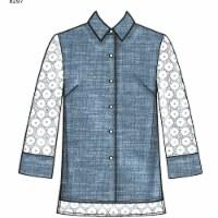 Simplicity Patterns US8297H5 Misses Shirts Pattern - 1