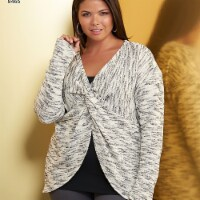 Simplicity Patterns US8465A Misses Knit Twist Tops with Pants Pattern - 1