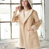Simplicity Patterns US8467H5 Misses Coat or Jacket with Neckline Variations Pattern - 1