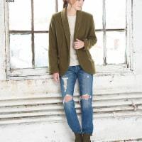 Simplicity Patterns US8468A Misses Unlined Jacket & Vest Pattern - 1