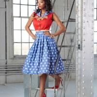 Simplicity Patterns US8481AA Misses & Womens Rockabilly Dresses Pattern - 1