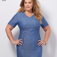 Simplicity Patterns US8543AA 10-16 Misses & Womens Amazing Fit Dresses - 1
