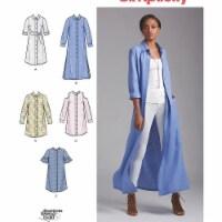 Simplicity Patterns US8546H5 Misses & Miss Petite Shirt Dresses Pattern - 1