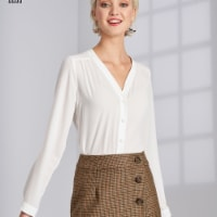 Simplicity Patterns US8699H5 Misses Wrap Skirts with Length Variations Pattern