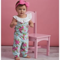 Simplicity US8933A Babies Knit Rompers, Shorts & Headband, Size A - 1