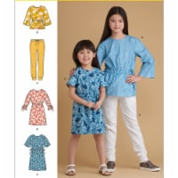 Simplicity US8965HH Childrens & Girls Separates, Size HH - 1