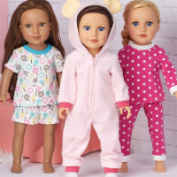 Simplicity Patterns US9033OS 18 in. Doll Clothes - One Size