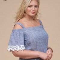Simplicity Patterns US8296BB Misses Petite, Womens Dress & Tops Pattern, BB - 20W-28W - 1