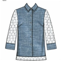 Simplicity Patterns US8297R5 Misses Classic Shirts Pattern, R5 - 14-16-18-20-22 - 1