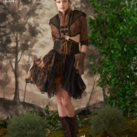 Simplicity Patterns US8409R5 Misses Steampunk Bolero & Corset Skirt Pattern, R5 - 14-16-18-20 - 1