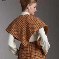 Simplicity Patterns US8507U5 Misses Vintage Skirt & Stole Pattern, U5 - 16-18-20-22-24 - 1