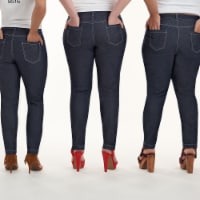Simplicity Patterns US8516R5 Misses Mimi G Skinny Jeans Pattern, R5 - 14-16-18-20-22