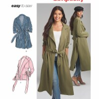 Simplicity Patterns US8554R5 Misses & Miss Petite Coats, Jackets Pattern, R5 - 14-16-18-20-22 - 1