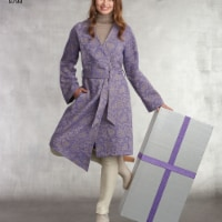 Simplicity US8798U5 Easy-To-Sew Womens Unlined Coat with Variations, Size U5 - 1