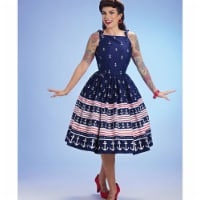 Simplicity US8873P5 Womens Sewing Pattern Gertie Dress, Size P5 - 1