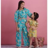 Simplicity US8936K5 Childrens & Girls Tops, Pants & Shorts, Size K5 - 1