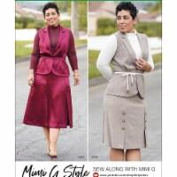 Simplicity US8959BB Womens Top, Skirt & Vest, Size BB