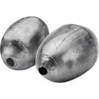 South Bend Size 8 Oval Shaped Egg Sinkers - 6 pk