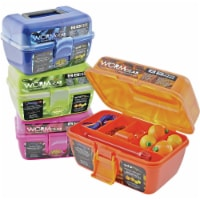 South Bend® Worm Gear 7-Compartment Tackle Box with Tackle - 88 pc