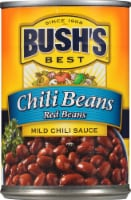 Bush's Best Mild Chili Sauce Red Beans