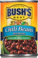 Bush's Best Medium Chili Sauce Red Beans