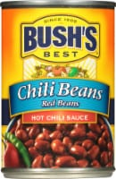 Bush's Best Red Chili Beans in Hot Chili Sauce