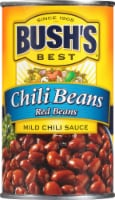 Bush's Best Red Chili Beans in Mild Sauce