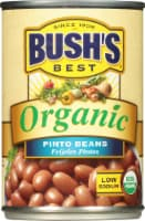 Bush's Best Organic Low Sodium Pinto Beans