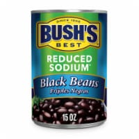 Bush's Best Reduced Sodium Black Beans