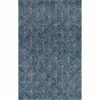 Madcap Cottage ROMNHROH-1NVY2380 2 ft. 3 in. x 8 ft. Roman Holiday-1 Hand Tufted Runner Rug -