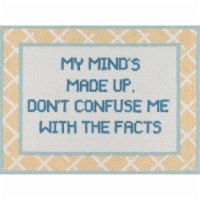 Madcap Cottage Get Smart GET-6 Yellow Facts of Life 3' X 4' Rug