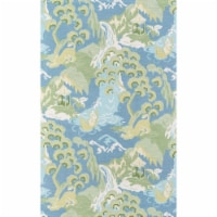 Madcap Cottage Embrace Adventure EMB-2 Blue Road to Canton 3' X 5' Rug - 1