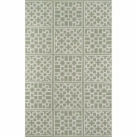 Madcap Cottage PAMBEPAM-1GRN2380 2 ft. 3 in. x 8 ft. Palm Beach-1 Hand Woven Runner Rug - Gre - 1