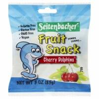 Seitenbacher Cherry Fruit Snack Dolphins