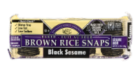 Edward & Sons Black Sesame Brown Rice Snaps - 3.5 oz
