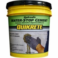 Quikrete 1126-20 Hydraulic Water-Stop Cement 20LB Pail - 20 pound each