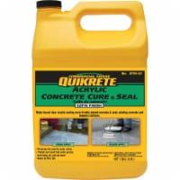 Quikrete 873002 Concrete Cure And Seal Satin Finish Concrete Sealer Gal - 1 gallon each