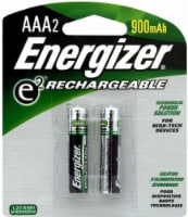 Energizer E2 Rechargeable 900mAh Battery - 2 Pack - AAA - 2 Pack