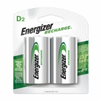 Nimh Rechargeable D Batteries 1.2V 2 Per Pack | 1 Pack of: 2 - Count of: 1