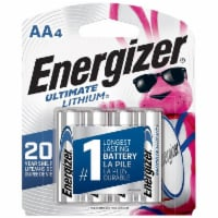 Energizer® Ultimate Lithium AA Batteries - 4 pk