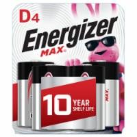 Energizer® Max® D Alkaline Batteries
