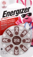 Energizer® EZ Turn & Lock 312 Hearing Aid Batteries
