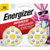 Energizer® Size 10 EZ Turn and Lock Hearing Aid Batteries