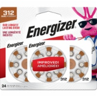 Energizer® Size 312 EZ Turn and Lock Hearing Aid Batteries