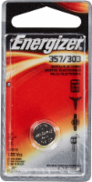 Energizer® 357/303 Silver Oxide Battery - 1 ct