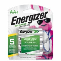 Energizer® Recharge® Universal AA Rechargeable Batteries